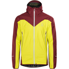 Haglöfs M's L.I.M Comp Jacket Star Dust/Rubin